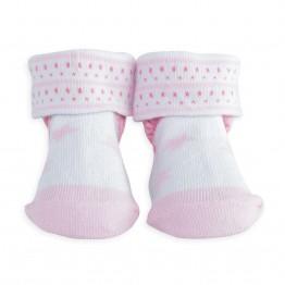 """1 paire de chaussettes bébé """"little star"""" rose"""