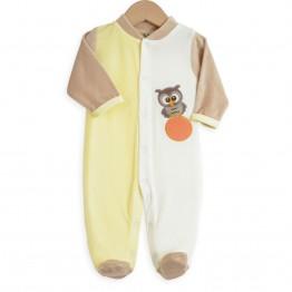 "Pyjama bébé ""Coucou Hibou"""
