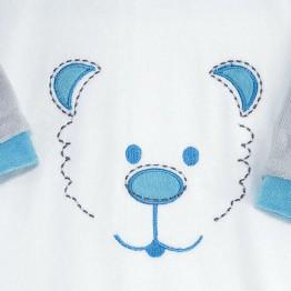 """Baby boy pyjamas """"Teddy bear face"""""""