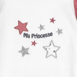 """Baby girl pyjamas """"Ma princesse"""""""