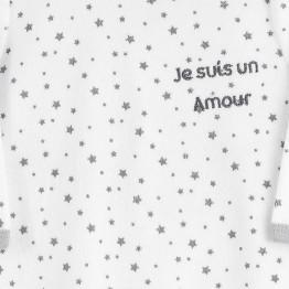 """Pyjama bébé - """"Amour de bébé"""""""
