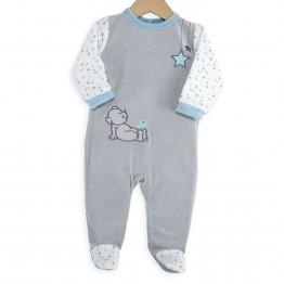 Pyjama bébé velours garçon Nounours