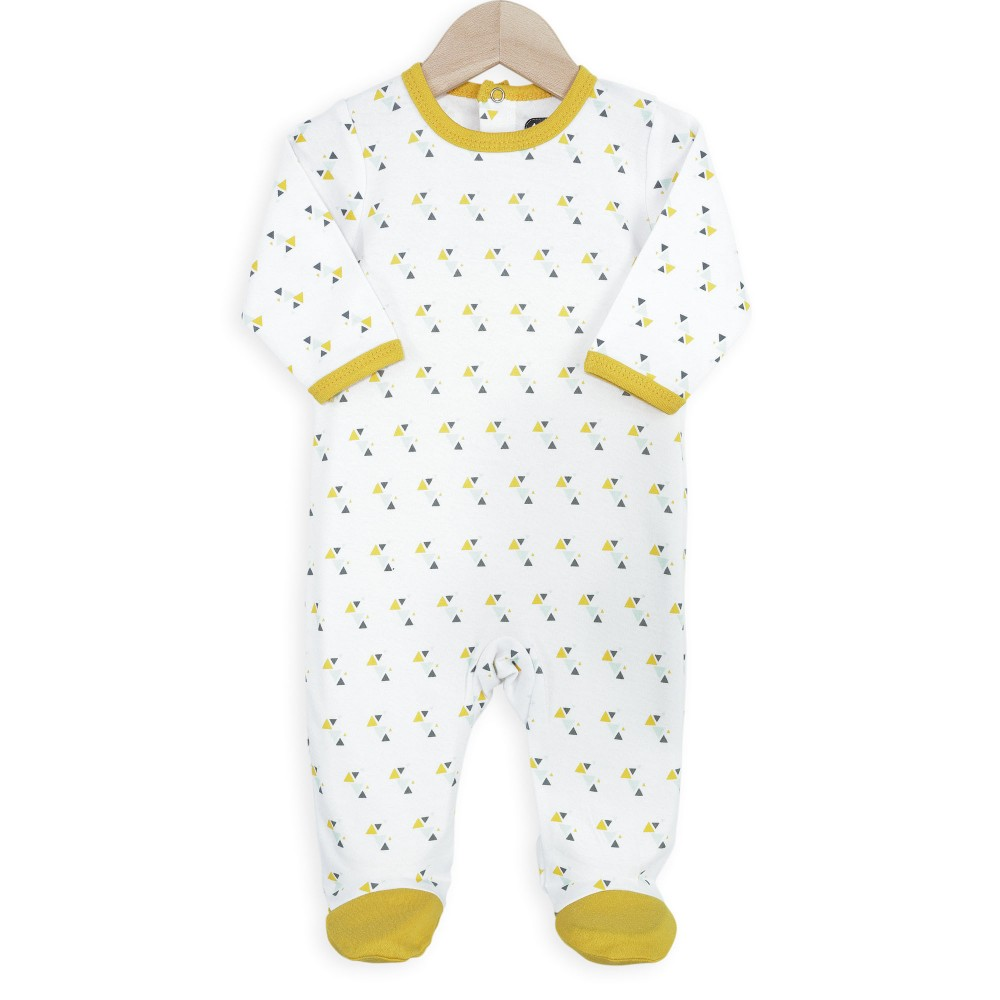 Pyjama coton bébé - Triangles