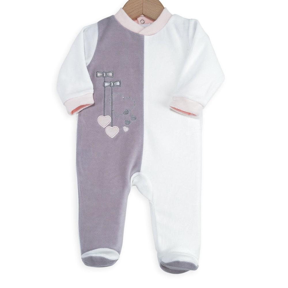 Pyjama bébé fille - Petits noeuds