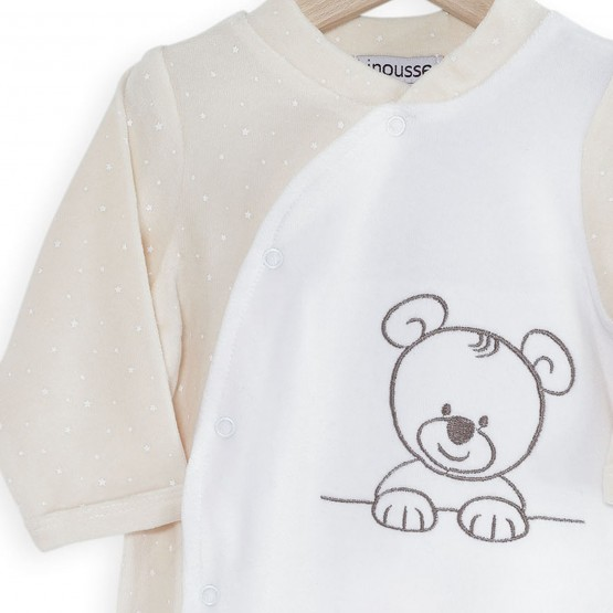 "Baby Sleepsuit ""Nino, the little teddy bear"""