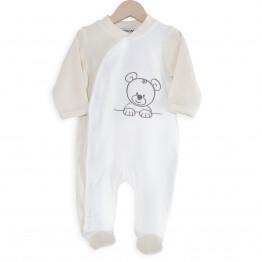 Pyjama en velours - Nino le petit Ourson