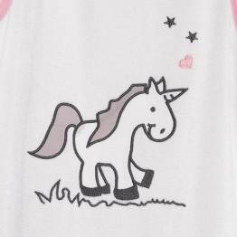 Sacco nanna estivo in spugna- Unicorno