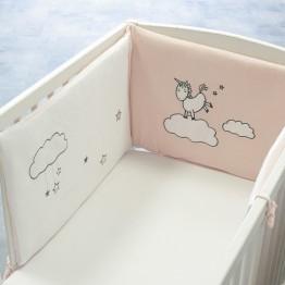 Paracolpi per lettino per femminucce – Lili l'unicorno