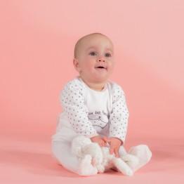 Pyjama bébé fille - Reine des pipelettes