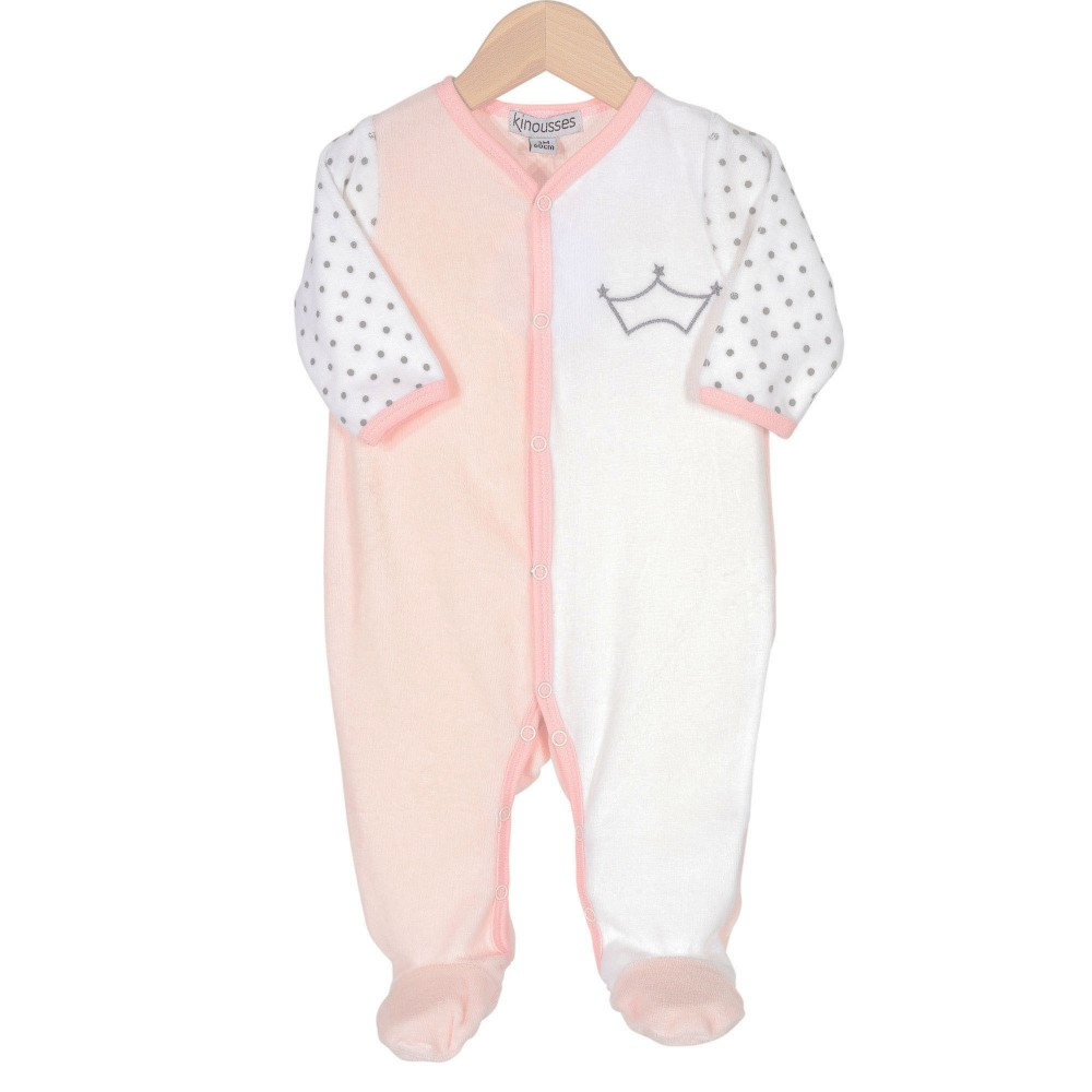 Baby girl pyjamas – Blabbermouth queen