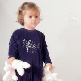 """pyjama bébé fille - """"Fée dodo"""""""
