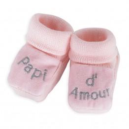 1 paio di scarpine rosa- Amore di nonno