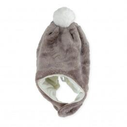 """""""Pompom """" polar baby hat"""