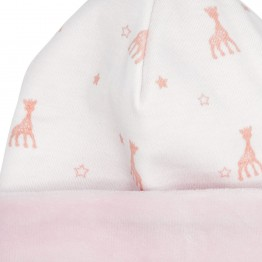 Birth baby girl cap - Sophie la Girafe