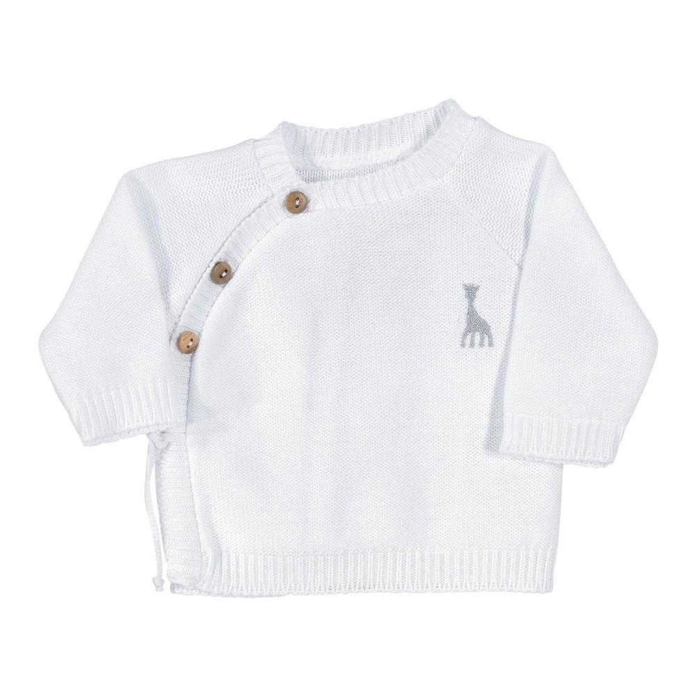 Brassière bébé blanche - Sophie la Girafe®