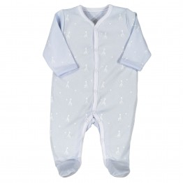 Cotton baby pyjamas – blue