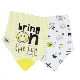 Bandana Bib - SMILEY BABY® (set of 2)