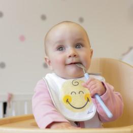 Bavaglino nascita SMILEY BABY® (confezione da 2)