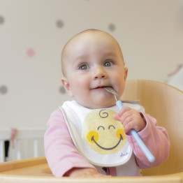 Bavoir naissance - SMILEY BABY® (lot de 2)
