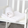 MAXI nappies - (Set of 2) in cotton muslin 115*115 cms - Dots