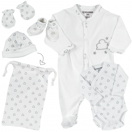 Birth kit – 6 pieces – Cloud