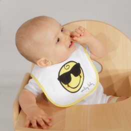 Lot bavoir bébé - SMILEY BABY® (x7)