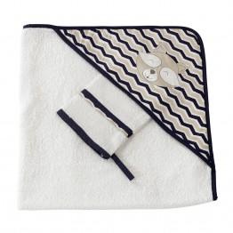 Baby bath towel - Miko & Malone
