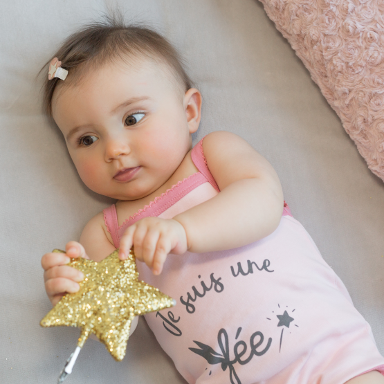 Summer baby bodysuit - Fairy