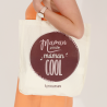 """Your GIFT : tote bag """"Super Maman"""""""