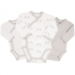 Birth bodysuit – Cat (set of 3)