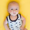 Body sans manche bébé - Petites Baleines