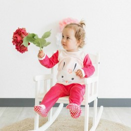 Pyjama bébé 2 pièces fille - Lapinou
