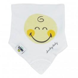 Set of 2 bandana bibs- SMILEY BABY®