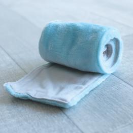Fleece baby Scarf - Turquoise