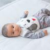 Ensemble bébé garçon - 3 pièces - gris