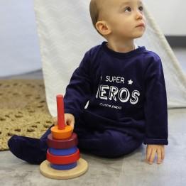 "Pyjama bébé garçon - ""Super Héros"""