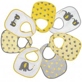 Set di 7 bavaglini per neonato- Barnabé