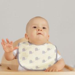 Lot de 7 bavoirs bébé 1er âge - Barnabé