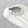 BIB'UP, il nuovo bavaglino con colletto silicone 22x 30 cm ( confezione da 2)
