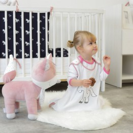 Sacco nanna estivo- Ophelia l'unicorno 65/90 cm