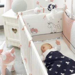 Tour de lit fille - Ophélia la licorne