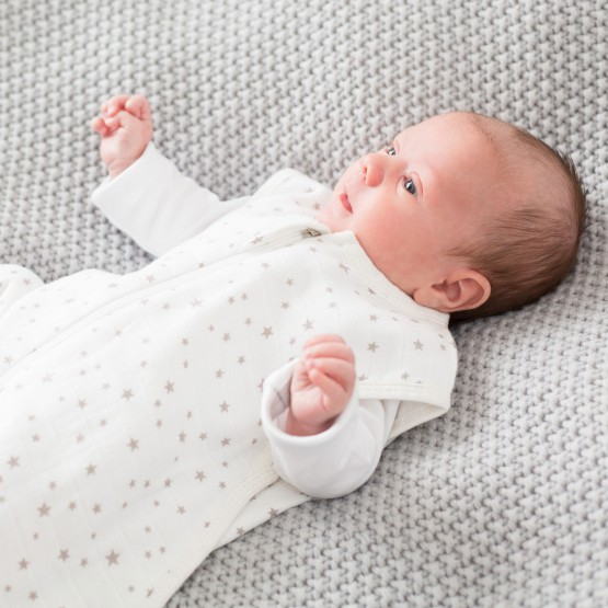 Birth cotton sleeping bag - Dream of stars