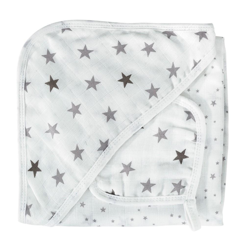 Cape de bain bébé et essuie bouche - Rêve d'étoiles