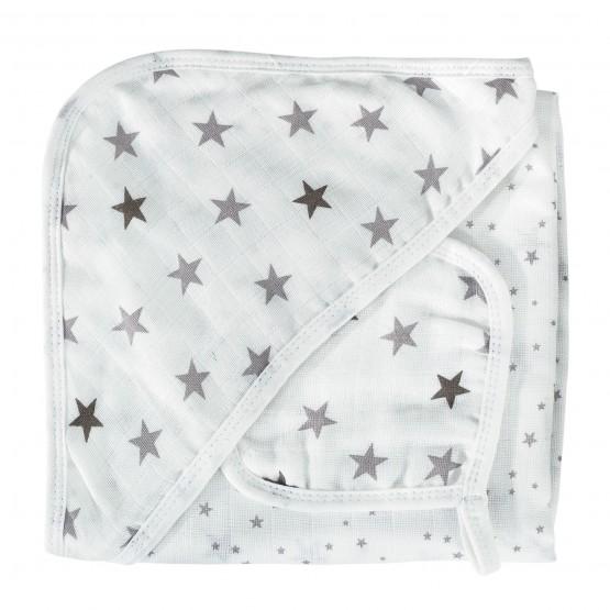 Accappatoio per il bagnetto e guanto - Sogno di stelle