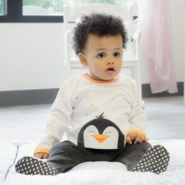 2 piece baby pyjamas - Penguin