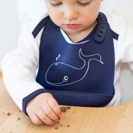 Bavaglino in silicone - Balena