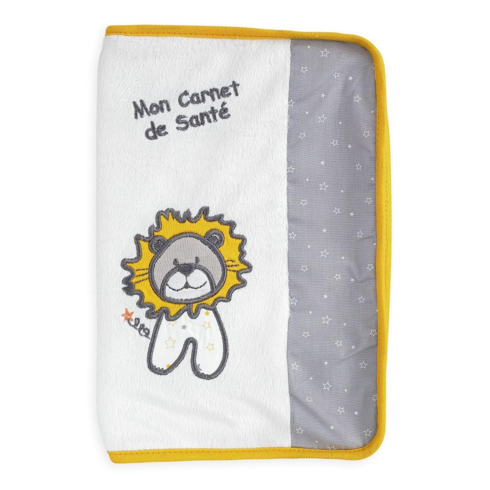 Protège carnet de santé bébé - Lion