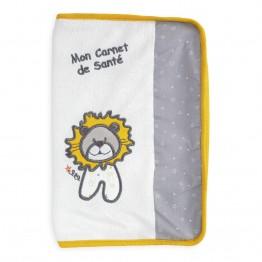 Protège carnet de santé bébé - Léo le lion