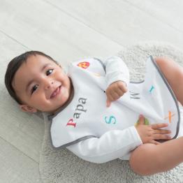 Confezione da 3 Bavaglini per neonati – ABC