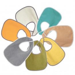Confezione da 7 bavaglini - colori